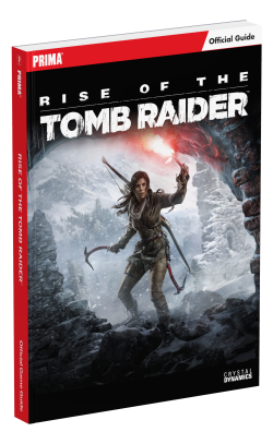 Maxraider Rise Of The Tomb Raider Strategy Guides Announced