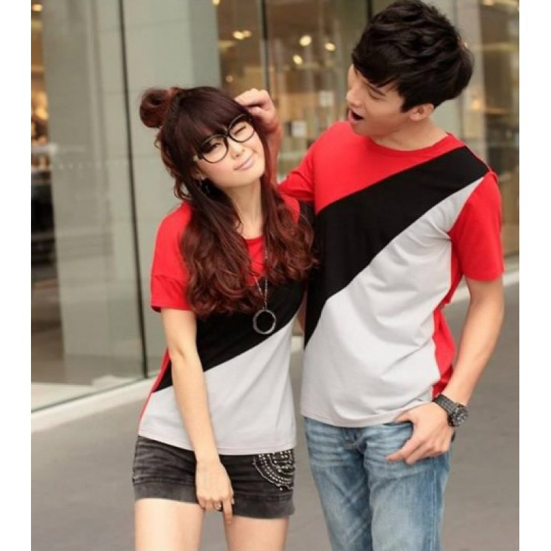 Jual Baju Couple CP Slash - 22729