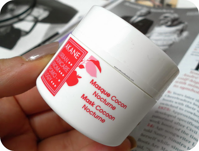 Akane Mask Cocoon Nocturne for Stressed & Thirsty Skin