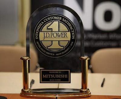 Penghargaan J.D Power untuk Mitsubishi 2018