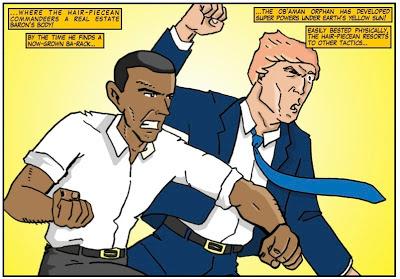 Amazing Arizona Comics President Obama immigration