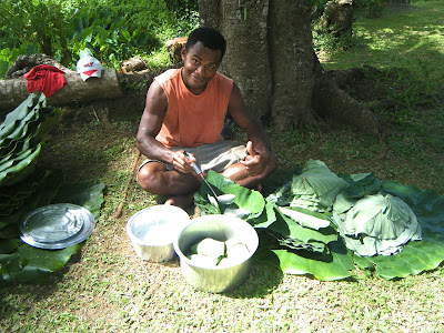 Fiji food preparation