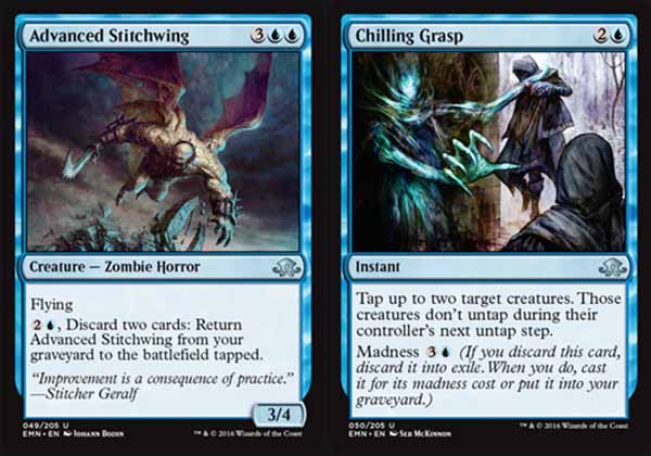 Magic the Gathering Adventures: Eldritch Moon Set Review - Blue