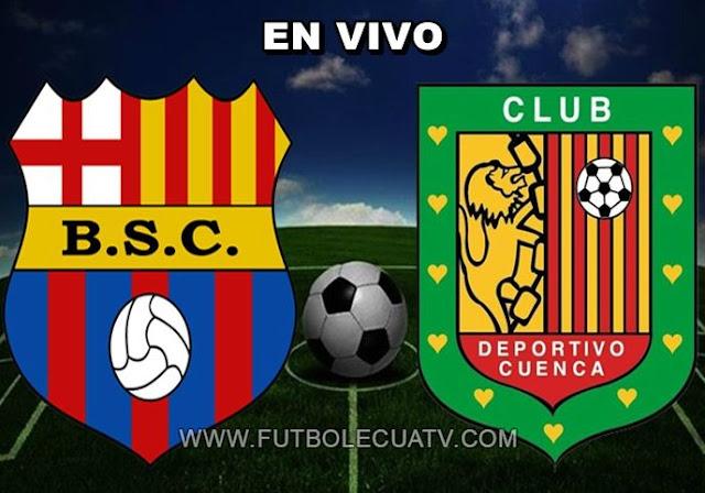 Barcelona SC hoy recibe a Deportivo Cuenca en vivo a partir de las 19h15 horario de nuestro país a efectuarse en el Estadio Monumental Isidro Romero Carbo por el arranque de la fecha nueve de la Serie A Ecuador, siendo el juez principal Franklin Congo con transmisión del canal autorizado GOLTV.