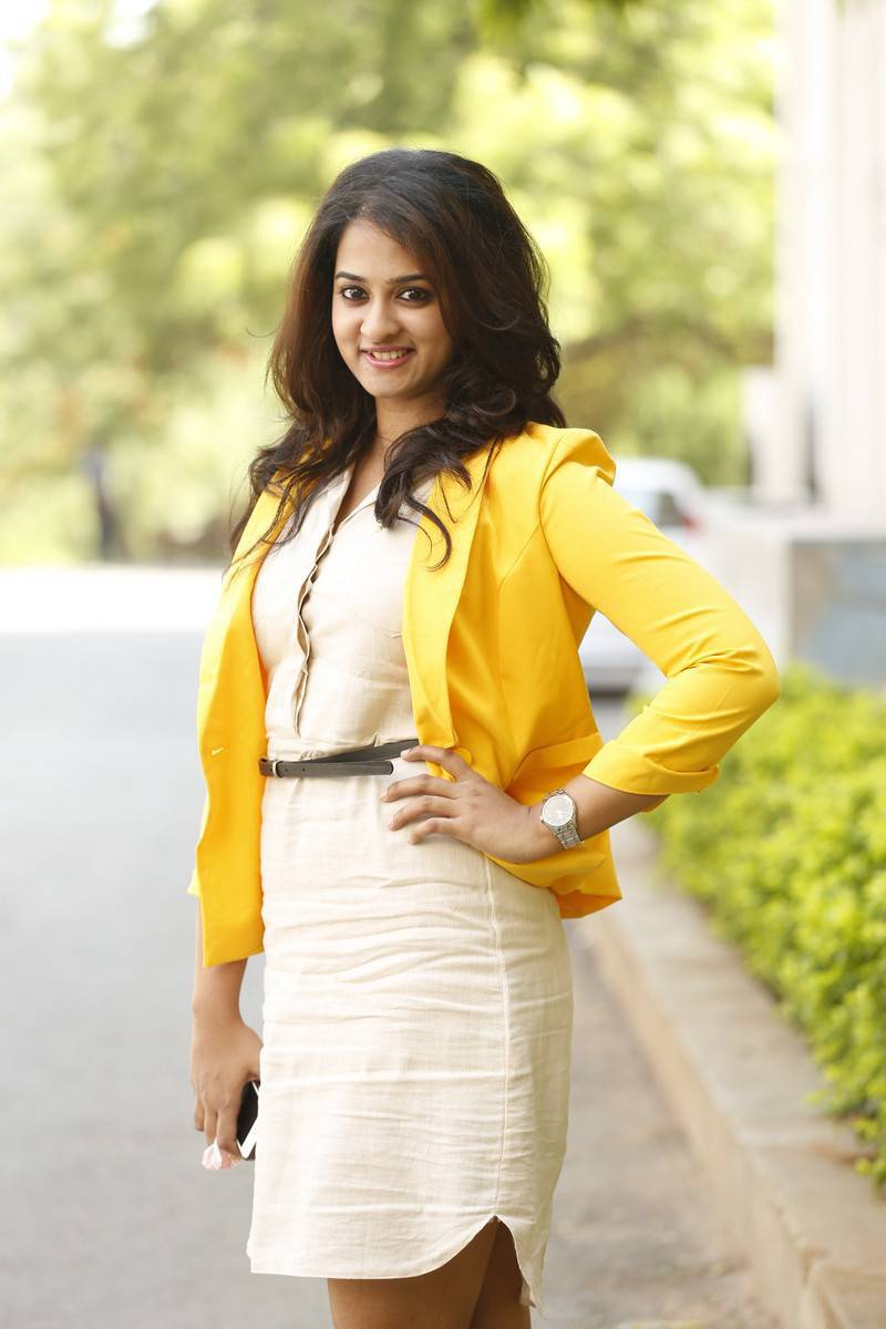 Nanditha Raj At Krishnamma Kalipindi Iddarini Press Meet