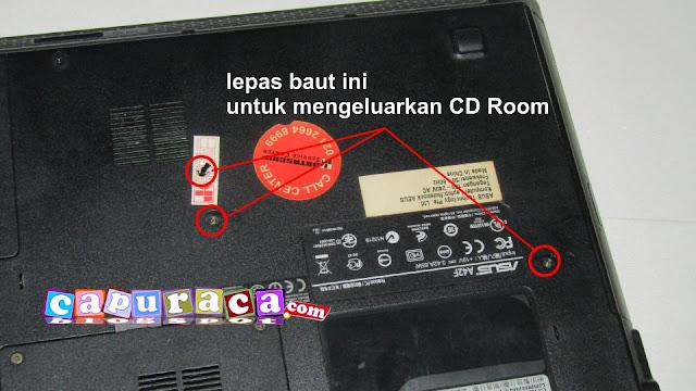 cd room laptop, mengatasi cd room laptop yang membuka sendiri, mengatasi CD Room Laptop yang sering terbuka sendiri,