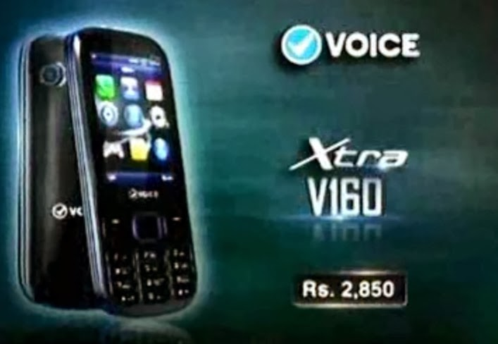 Voice Xtra V160 Price In Pakistan