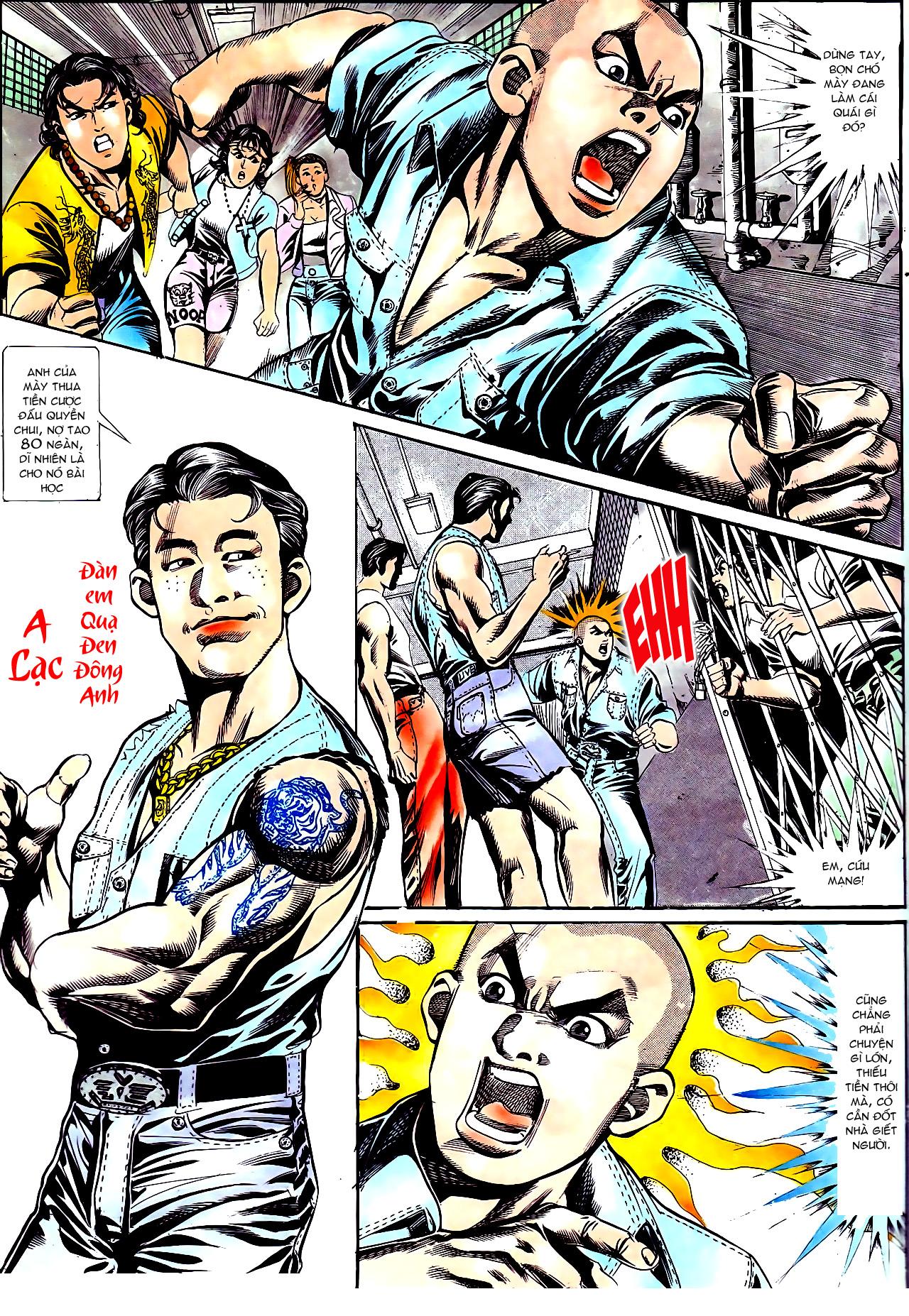 Người Trong Giang Hồ chapter 158: bang phái thanh trừng trang 13