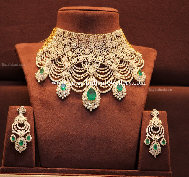 Diamond Grand Collar Necklace