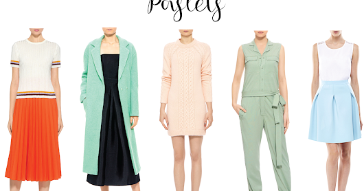 Spring Fashion Trends | Pastels, Prints & Patterns ft. IFCHIC