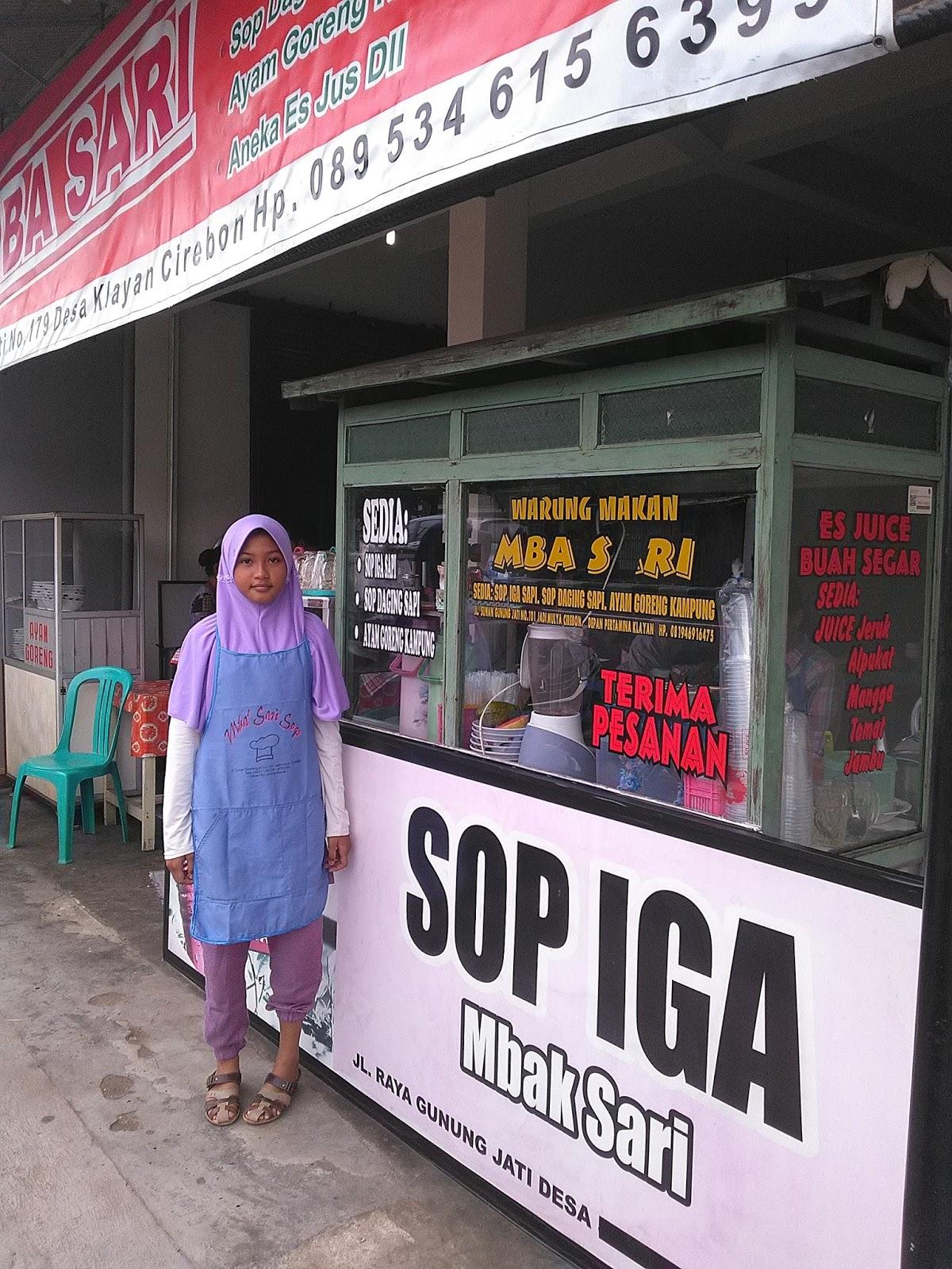 Sop Iga Sapi mbak Sari Cirebon