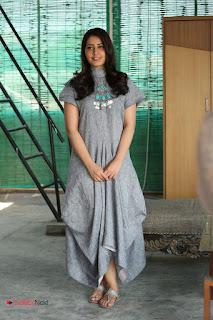 Actress Rashi Khanna Latest Pictures in Stylish Long Dress  0193.JPG