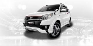 Harga Toyota Rush di Pontianak Warna White