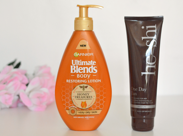 Holiday skincare essentials, Garnier ultimate blends, He shi
