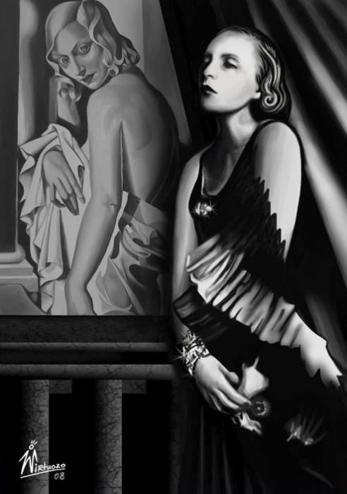 The Painted Prism Women Artists Tamara De Lempicka