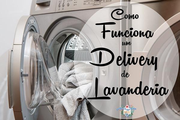 Como funciona um delivery de lavanderia?