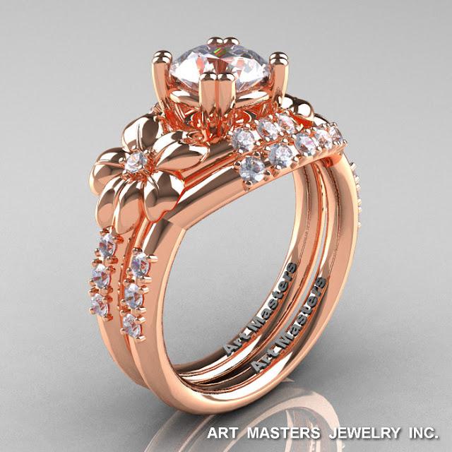 Rose Gold Russian Wedding Ring