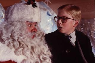 A Christmas Story Ralphie Santa Claus