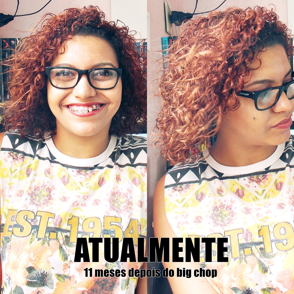 Depois do big chop