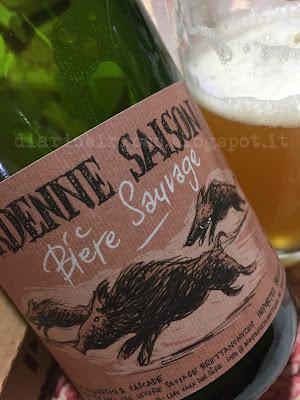 Brasserie de Bastogne - Ardenne Saison birra recensione diario birroso blog birra artigianale