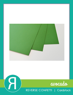 avocado cardstock