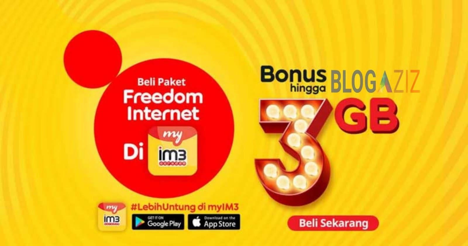 Apa itu Paket Freedom Internet Plus IM3 dan bagaimana cara Mengaktifkannya?