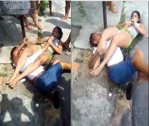 See How Jiu-Jitsu Expert Woman Overpowered Thief Trying To Rob Her