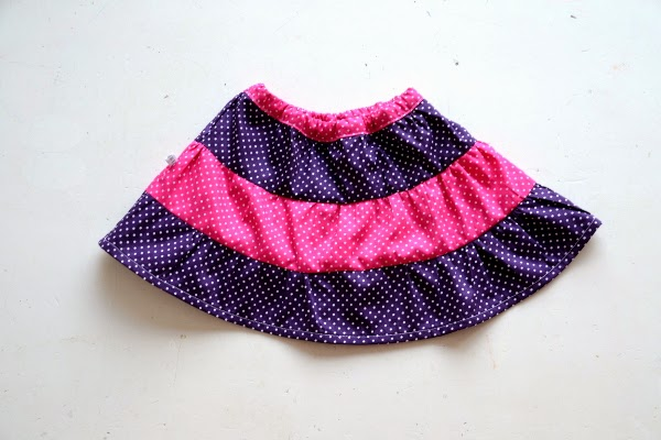 Tiered Skirt Tutorial - Pienkel.com