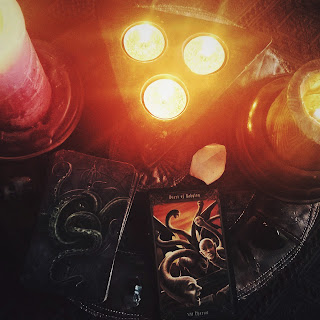 "Winter Sickness, Confessions from my ""Death"" Bed + #TarotThursdayThree"