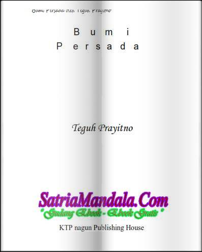 Ebook Novel Bumi Persada