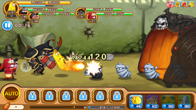 Larva Heroes: Lavengers v1.0.5 2018 Mod Apk (Unlimited Candies+Gold)
