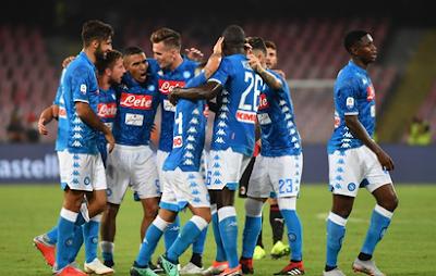Highlight Napoli 3-2 AC Milan, 25 Agustus 2018
