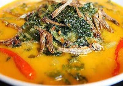 Resep Masakan Gule Daun Singkong