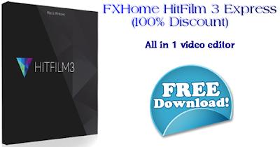 Δωρεάν HitFilm 3 Express, Video Editor, Windows 64bit, Mac OS X