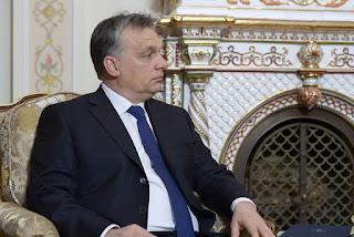 Victor Orban à Moscou
