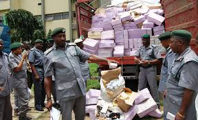 BREAKING; Customs Seize N7.3bn Tramadol Imported From India
