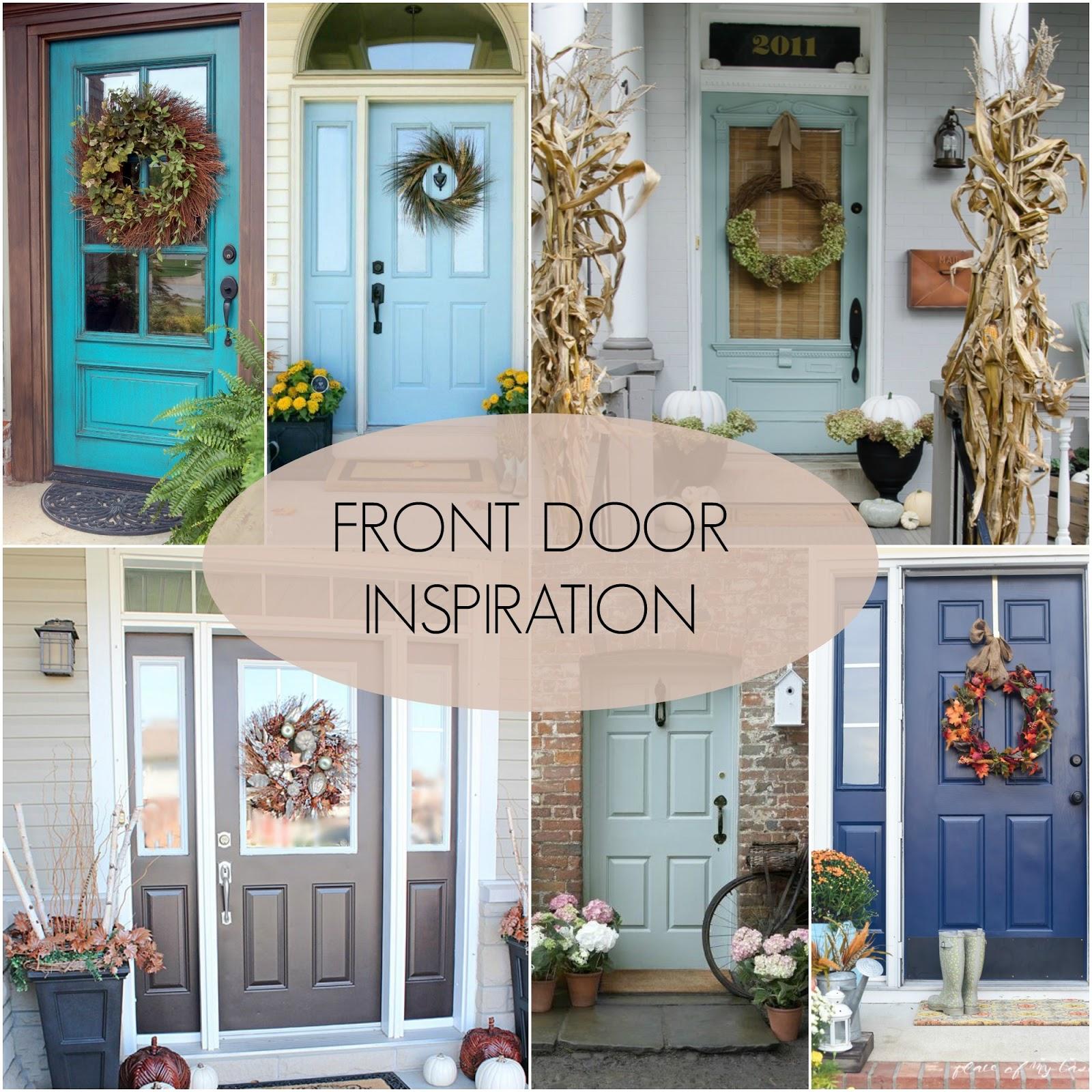Front Door Inspiration