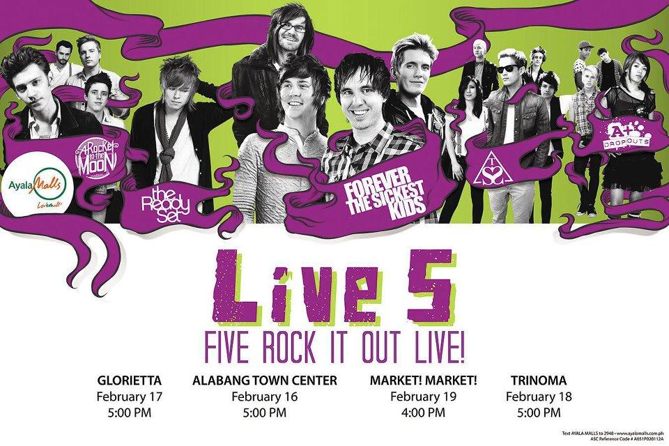 LIVE 5: Five Rock It Out Live