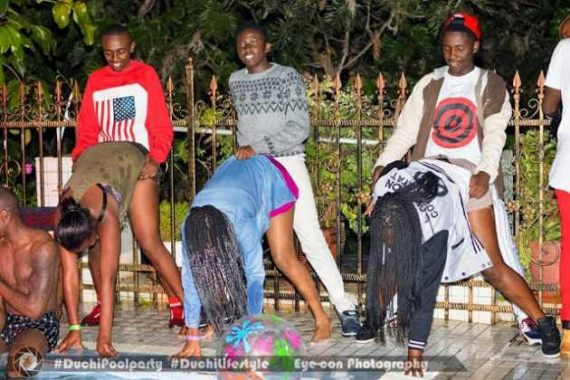 See What Some Immoral Kenyan Youths Did At A Pool Party - Information Nigeria-5910