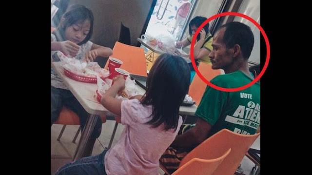 Sedih, Kedua Putrinya Makan Ayam di Restoran, Fakta Menyedihkan Sang Ayah Pun Terungkap!