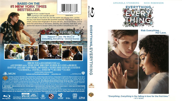 Everything, Everything Bluray Cover