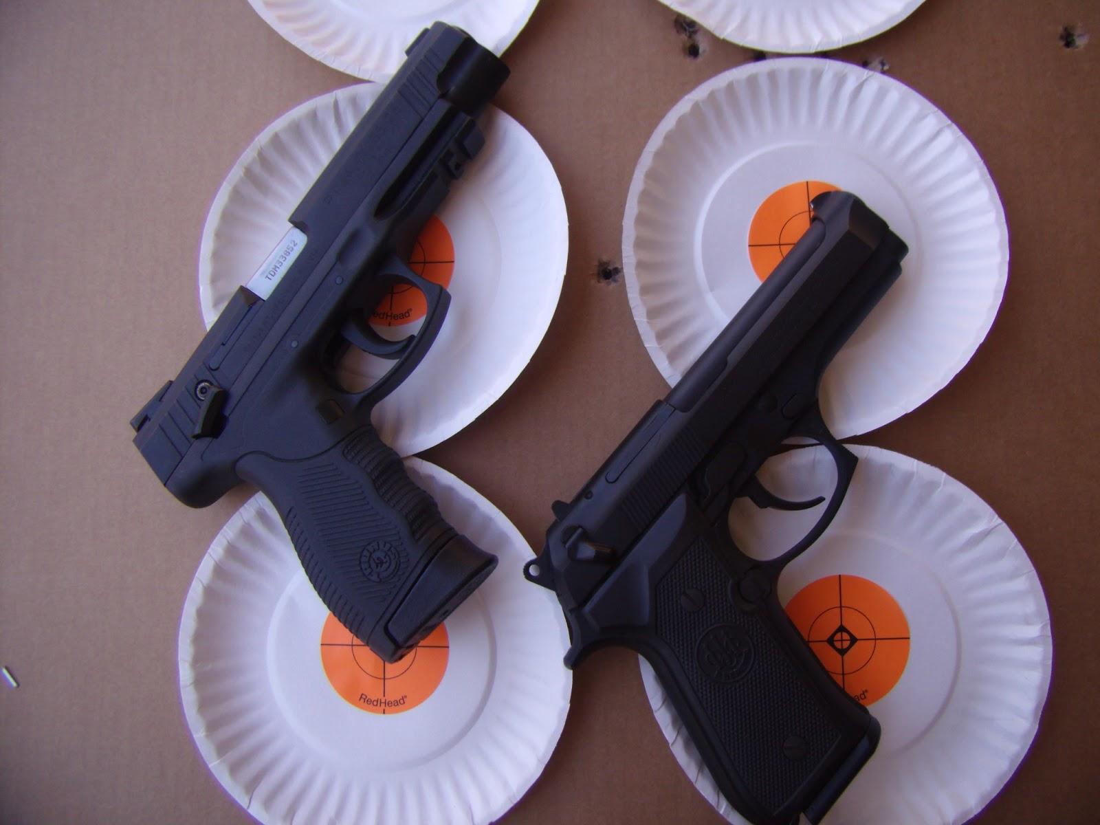 The Daywalker's Dad: Beretta 92FS vs Taurus 24/7 OSS