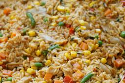 Arroz con pollo (rice with chicken) -Easy Costa Rican Recipe
