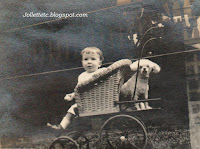 "John Jr and ""Cutey"" New York 1918  http://jollettetc.blogspot.com"