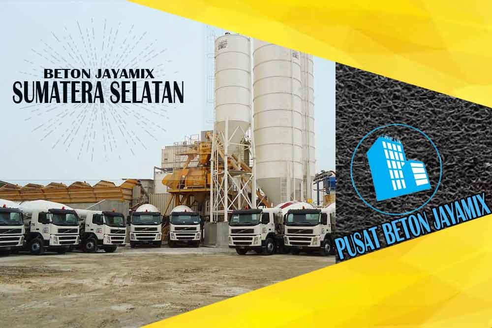 harga beton jayamix sumatera selatan 2020