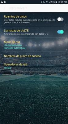 activacion llamadas VoLTE en android