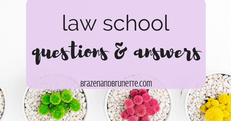 Law school questions and answers
