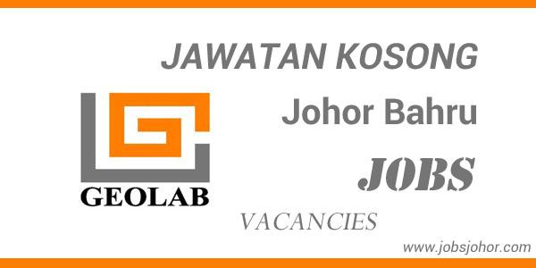 Jawatan Kosong Geolab (M) Sdn. Bhd. di Johor Bahru