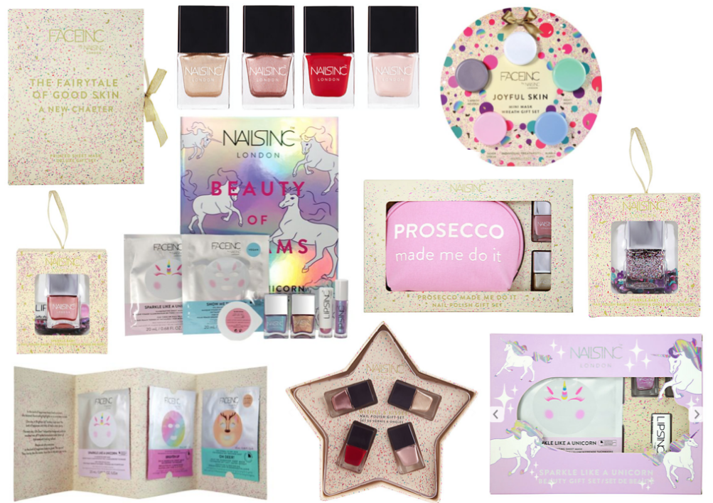 Nails Inc Christmas Gift Sets 2017