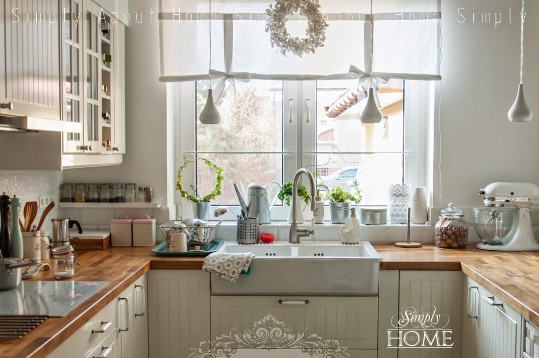simply about home Jak olejowa drewniany blat kuchenny